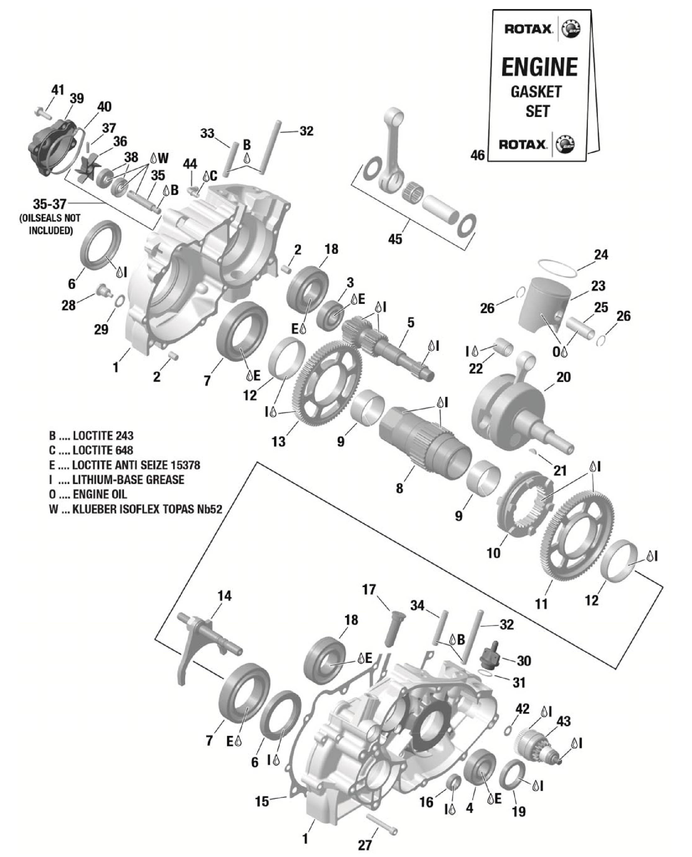 Crankcase Boutique Psl Karting
