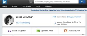 LinkedIn screenshot