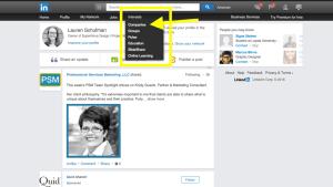 how to add admin on linkedin