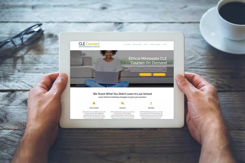 CLE Connect | Ethical Marketing CLEs On-Demand for Minnesota Lawyers