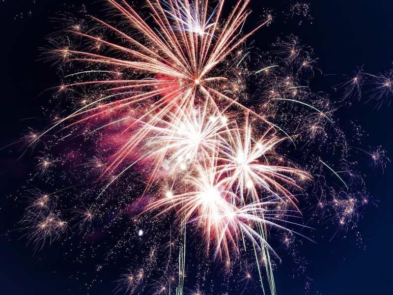 new years fireworks celebration