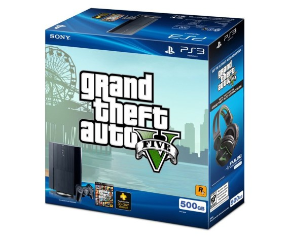 GTAV Bundle in the box
