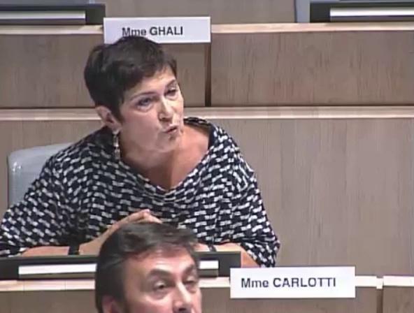 Marie-Arlette Carlotti dénonce la situation alarmante de l'UHU de la Madrague