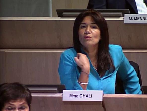Mourepiane, Samia Ghali demande le retrait du rapport