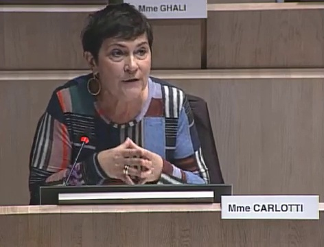 Marie-Arlette Carlotti interpelle Jean-Claude Gaudin sur le logement indigne