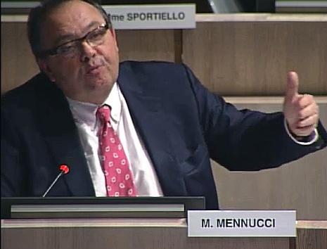 Patrick Mennucci intervient sur le projet du pont transbordeur