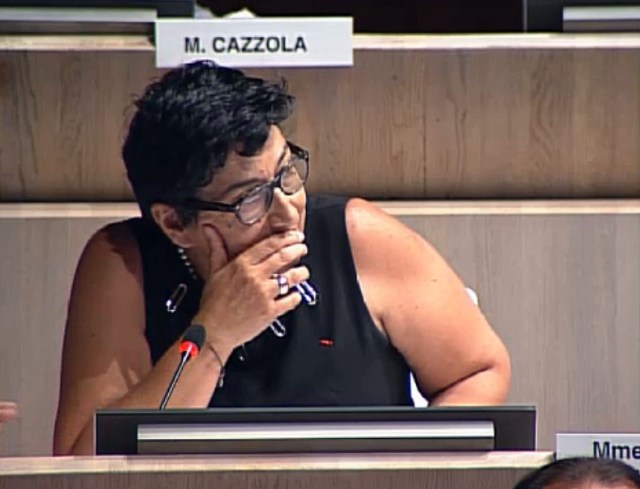 Annie Levy-Mozziconacci revient sur les travaux des écoles