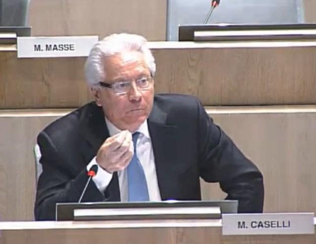 Eugène Caselli défend la Métropole