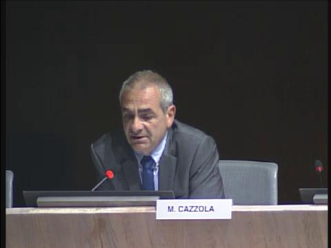 Roland Cazzola félicite le travail des marins pompiers de Marseille