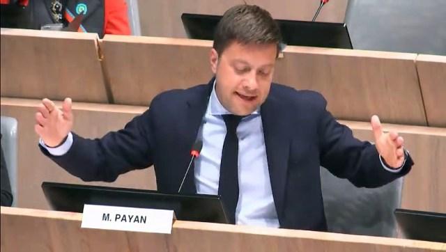 Benoît PAYAN intervient sur le budget 2019 de la ville de Marseille