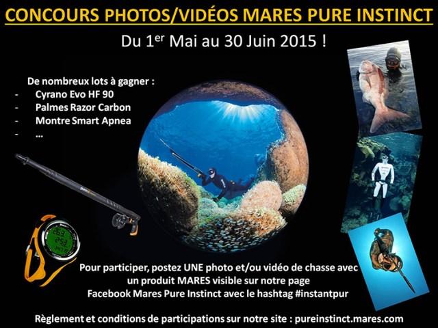 Affiche Concours photos_vidéos Mares Pure Instinct