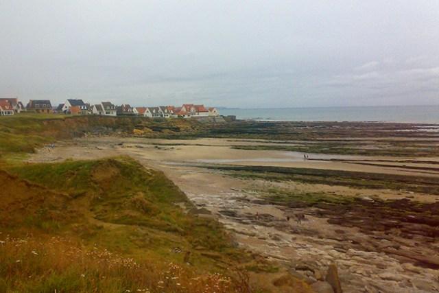 plage d'Audresselles vue du Nord