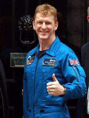 Tim Peak motivé par le projet Blue abyss