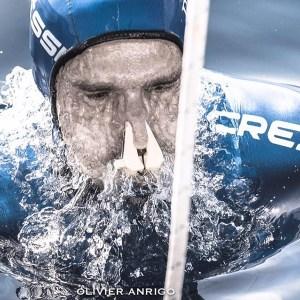 Guillaume Nery par Olivier Anrigo