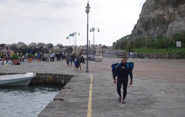 Khalid Wahid à Ischia
