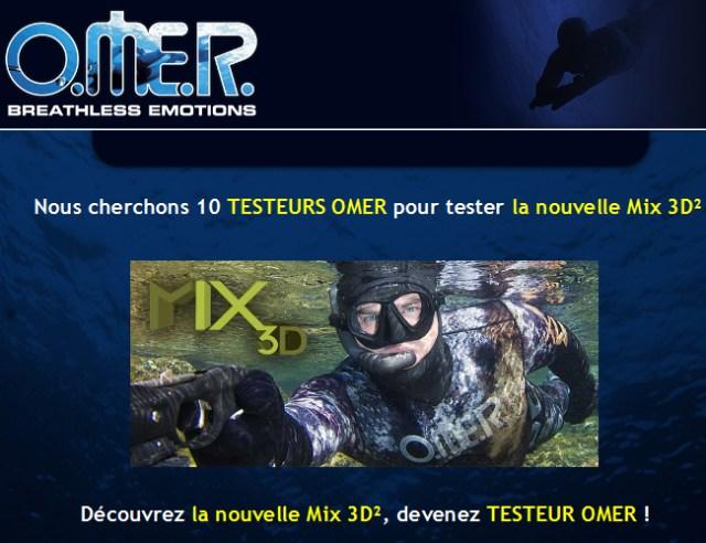 Devenez testeur Omer !