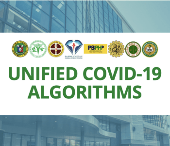 UNIFIED COVID-19 Algorithms