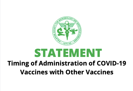 PSMID Statement on the Timing of Administration of COVID-19 Vaccines with Other Vaccines