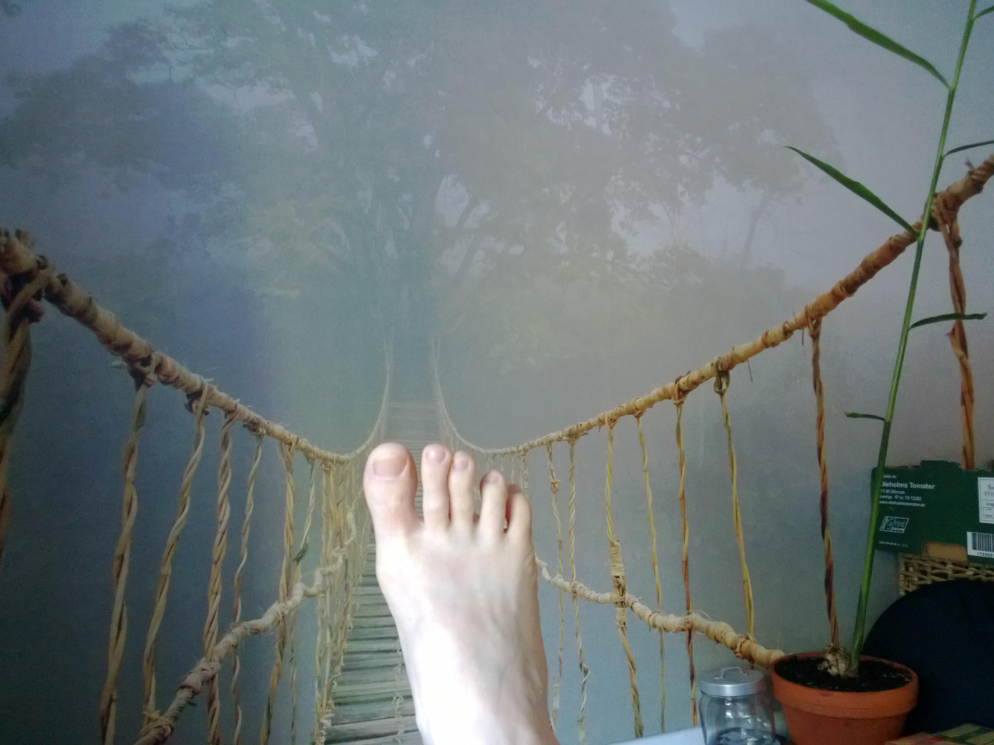 Foten och psoas