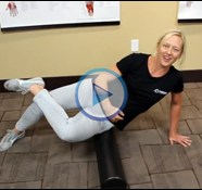 Quick Tip:  Foam Rolling the Glutes and TFL