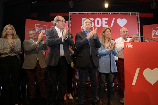 Valle Luna interviene en el acto público con los candidatos a las alcaldías del suroeste de la Comunidad de Madrid