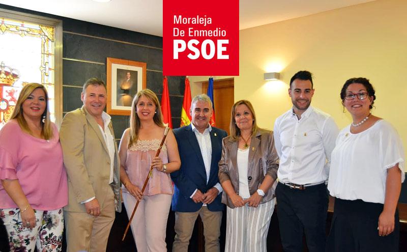 Valle Luna Zarza toma posesión como Alcaldesa de Moraleja de Enmedio