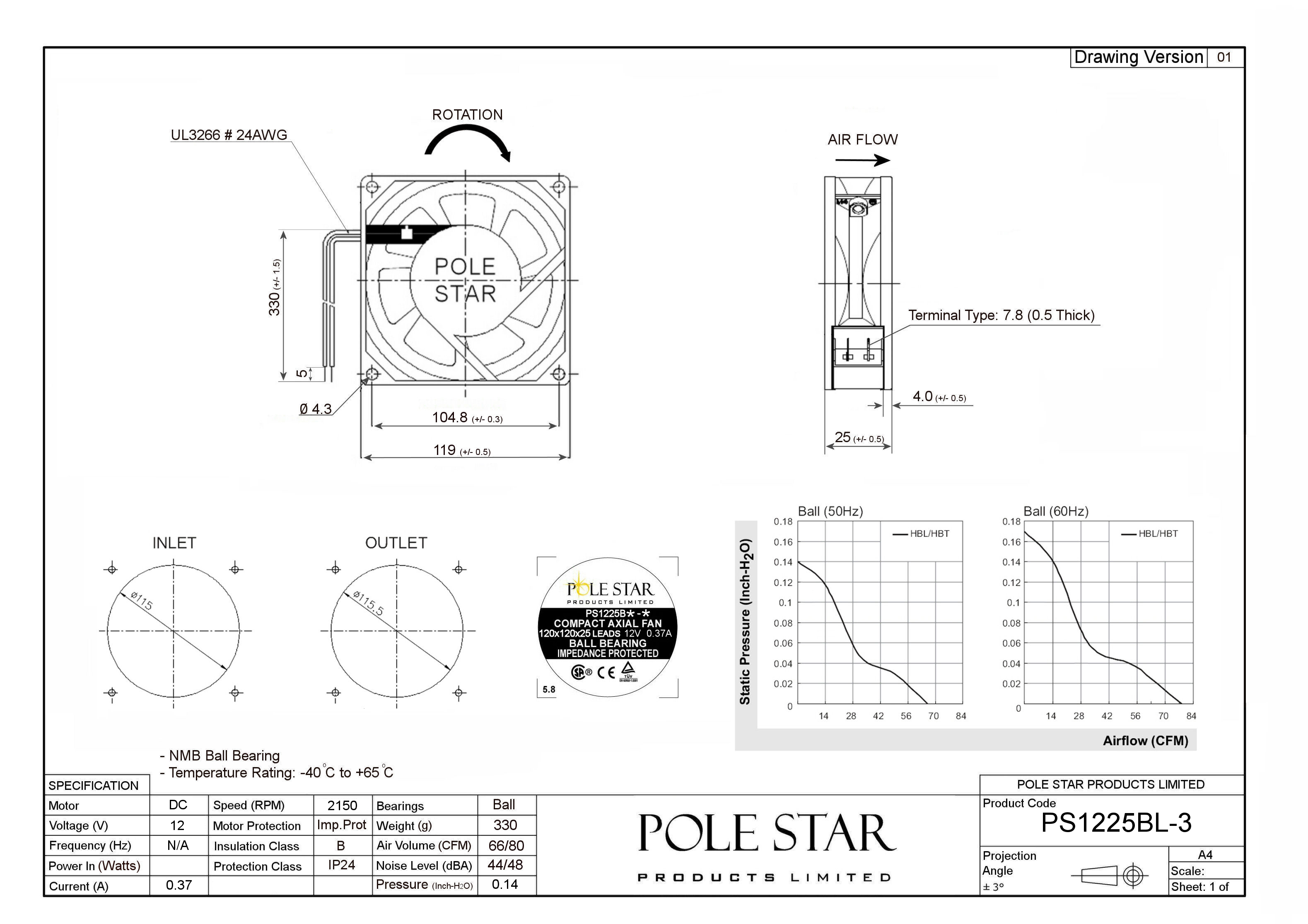 Ps Bl 3 Pole Star Products Limited