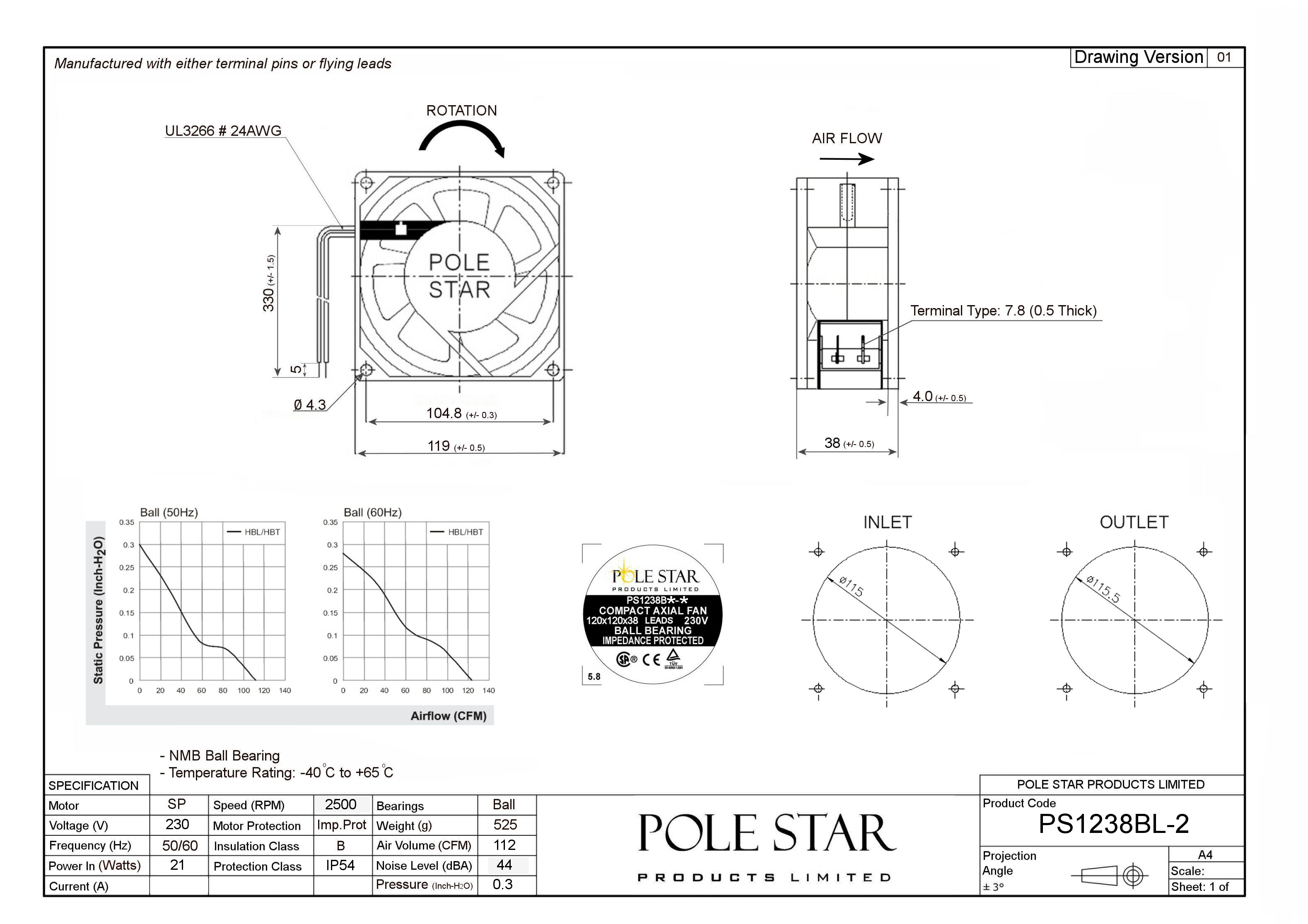 Ps Bl 2 Pole Star Products Limited
