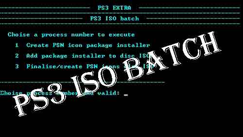 PS3 ISO Batch Tools - Download PS3 ISO Batch Tools for Free