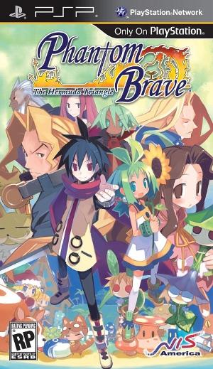 Phatom Brave - Phantom Brave: The Hermuda Triangle (USA) PSP ISO CSO