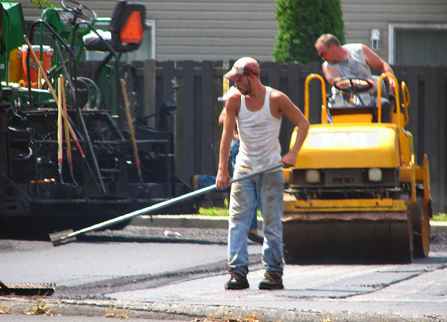 NB road construction