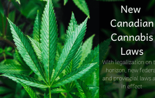 New Canadian Cannabis Laws