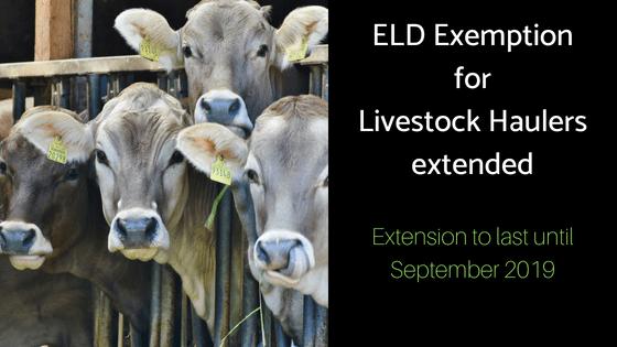 Livestock ELD exemption
