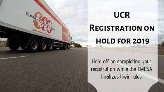 2019 UCR Registration fees