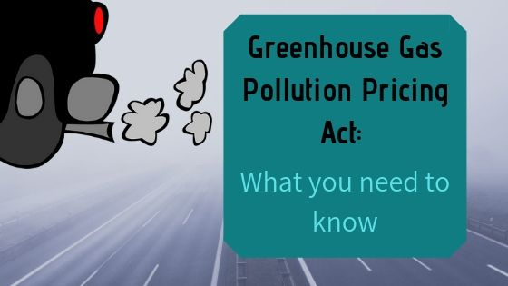 How does this Greenhouse Gas Pollution Pricing Act affect Road Carriers?