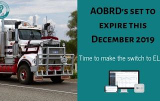AOBRDS deadline. Switch to ELD