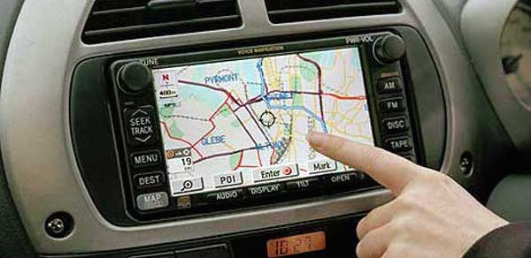 Navigation-car