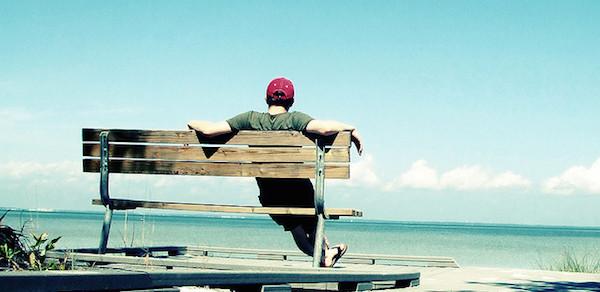 relaxing-on-beach