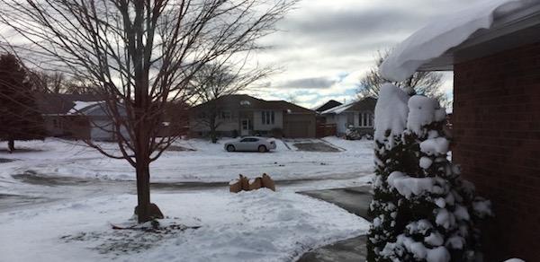 first snowfall