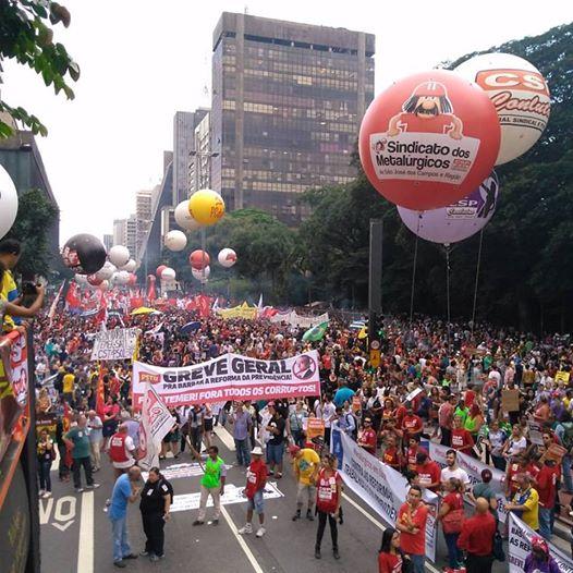 Día Nacional de Luchas y Paralizaciones coloca a la orden del día la Huelga General