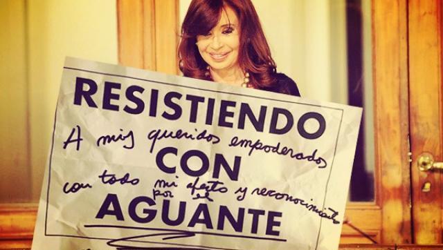 """De la resistencia peronista al """"resistiendo con aguante"""""""