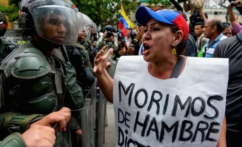 Resultado de imagem para venezuela fome