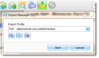 Pst Viewer Pro export manager