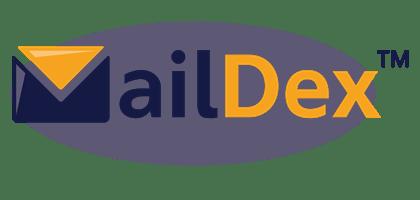 Logo for MailDex email archiving program.
