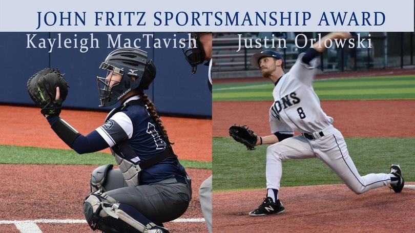 John Fritz Sportsmanship Award Recipients