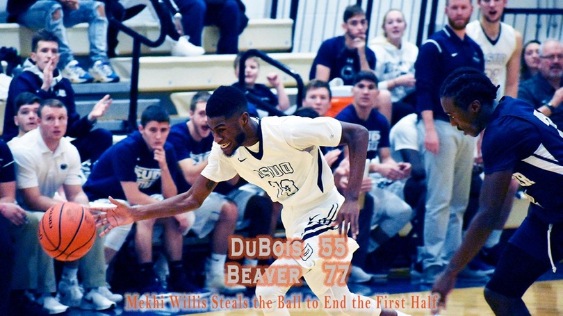 Beaver Downs DuBois with First Half Defense