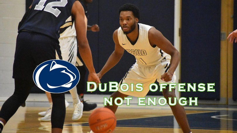 DuBois Offense Not Enough