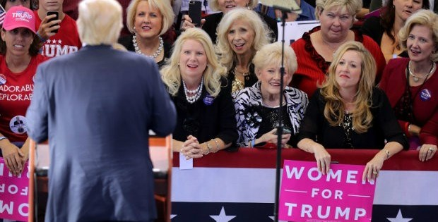 White Women Were Responsible for Trump's Surprise Win