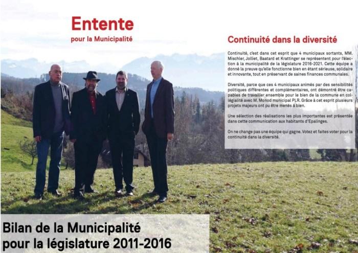 Entente 2011- 2016