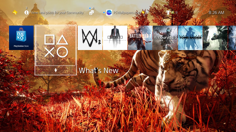 Far Cry 4 Playstation Wallpapers